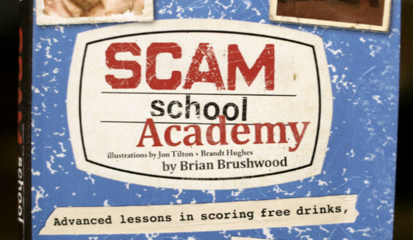SIGNED Scam School 2-Book Bundle!