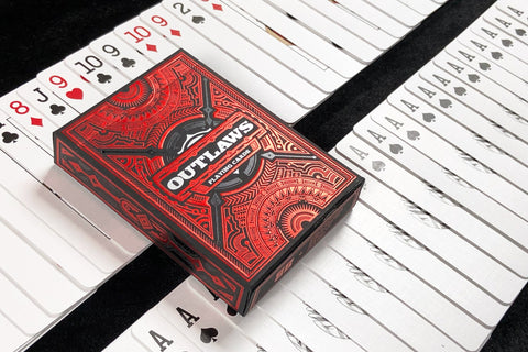 Outlaws Crimson 50/50 Force Deck Bundle