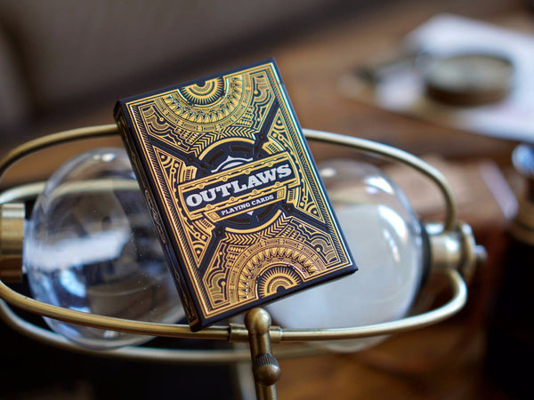 Outlaws Playing Cards