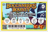Buccaneer's Bounty (25 Magic Trick Lottery Tickets)