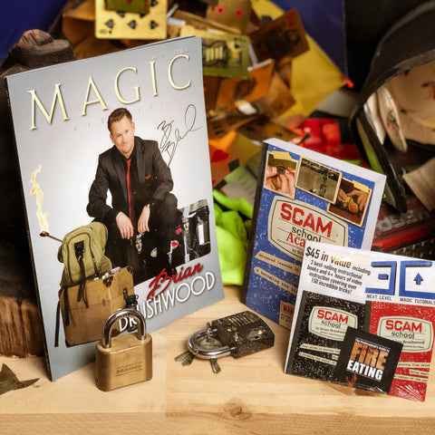 SIGNED Magazine & Book Bundle (PLUS $45 Extra Credit DVD)