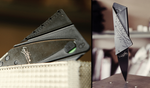 thin credit card knife fits in your wallet