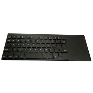 Mini Wireless Keyboard with Touchpad for Computer Gaming 2.4GHz Wireless Keyboard Portable for Laptop Tablet