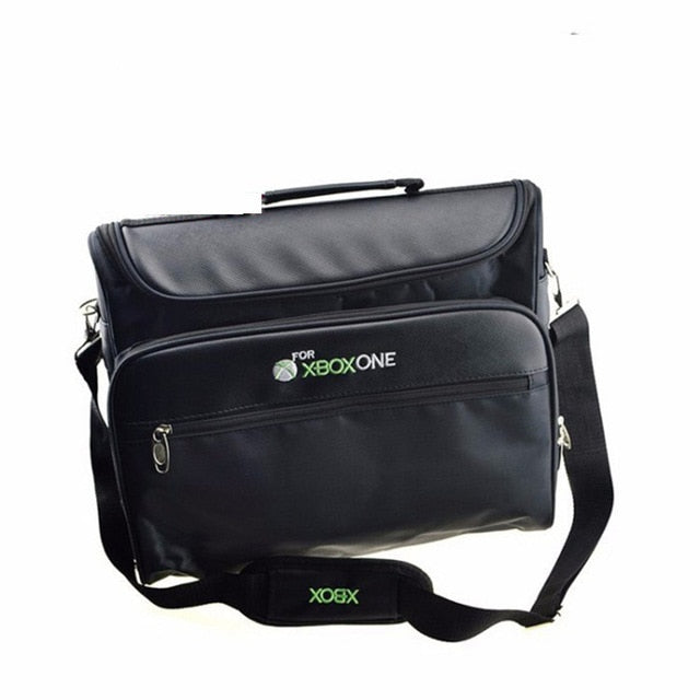Travel Storage Game Protective Bag for Xbox One Travel Carrying Shoulder Bag Game Sytem Accessories Controllers Case
