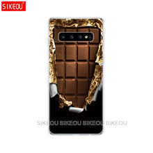 Load image into Gallery viewer, For Samsung Galaxy S10 Case S10Plus Case Silicone TPU Cover Phone S10 E Case On For Samsung S10 Plus S 10 bags bumper vintage