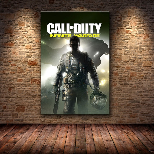 Call of Duty Modern Warfare Wall Art Canvas Poster And Print Canvas Painting Decorative Picture For Bedroom Home Decor