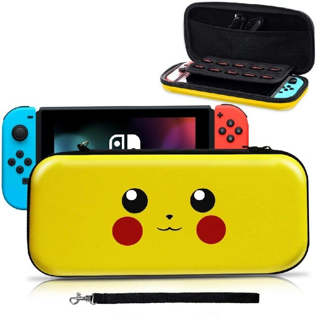 Cartoon Portable Gamepad Accessories EVA Storage Hard Case Console Carrying Bag Gaming Portable Travel Cover for Nintendo Switch
