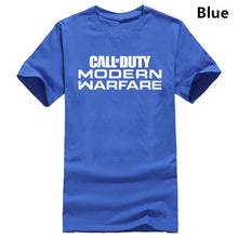 Load image into Gallery viewer, Call of Duty Modern Warfare Logo T-Shirt MEN'S PS4 Black Ops 4  Logo