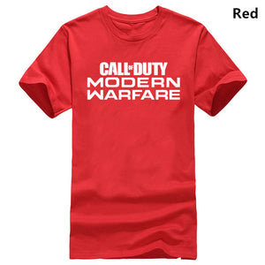 Call of Duty Modern Warfare Logo T-Shirt MEN'S PS4 Black Ops 4  Logo