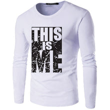 Load image into Gallery viewer, Men's T-Shirt long- Sleeve Round Neck Print T-Shirt Call of Duty T-Shirt Fashion Casual