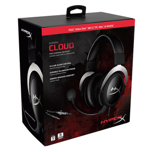 HyperX Cloud Gaming Headset Automatically noise cancellation headphones Detachable noise-cancellation microphone volume control