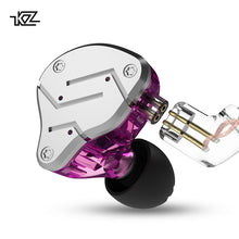 Load image into Gallery viewer, KZ ZSN Metal Earphones Hybrid technology 1BA+1DD HIFI Bass Earbuds In Ear Monitor Headset Sport Noise Cancelling Headphones