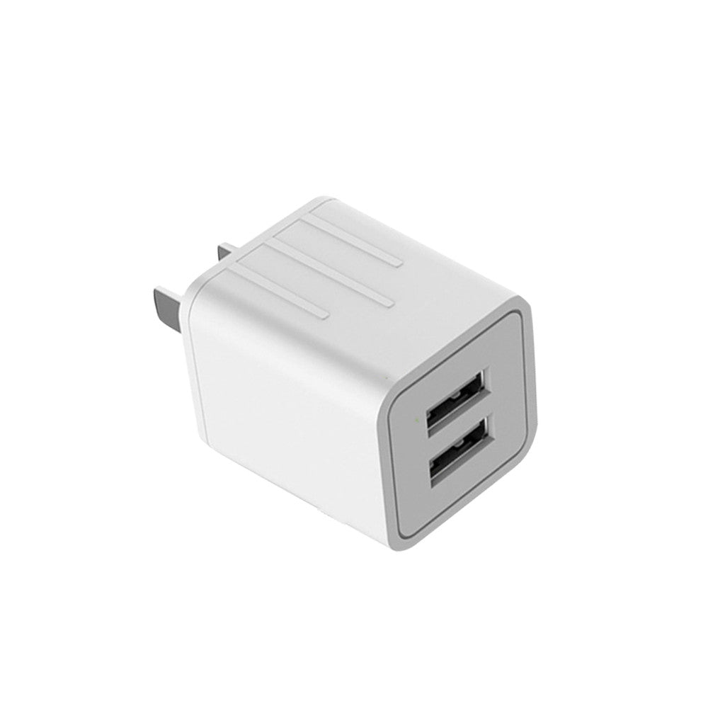 USB Fast Charger Adapter USB Fast Wall Charger Adapter Portable Fast Charge White Phone Charger Power Adapter USB Power Adapter