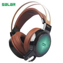 Load image into Gallery viewer, Salar C13 Gaming Headset Wired PC Stereo Earphones Headphones with Microphone for computer Gamer headphone