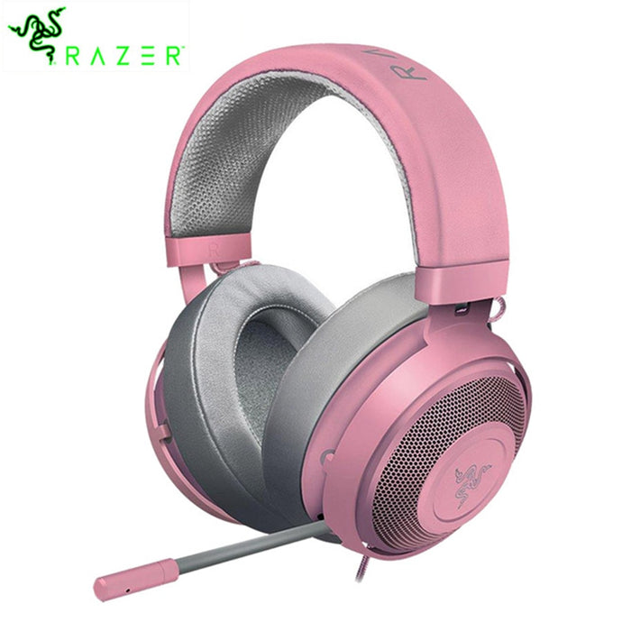 Razer Kraken Wired 3.5mm Jack Gaming Headset Compatible with PC, Mac, Xbox One, PS4, Nintendo Switch Gaming Headphone For Gamer