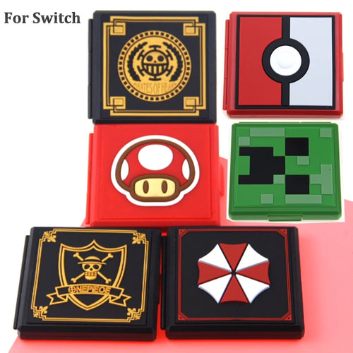 12in1 for Nintend Switch Shockproof Game Cards Case NS Hard Shell Box for Nitendo Switch Games Storage Accessories