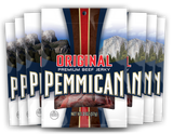 Pemmican Original Beef Jerky 2oz / 8 Ct. Case
