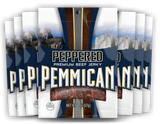 Pemmican Peppered Beef Jerky 2oz / 8 Ct. Case