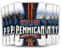 Pemmican Sweet Hot Beef Jerky 2oz / 8 Ct. Case