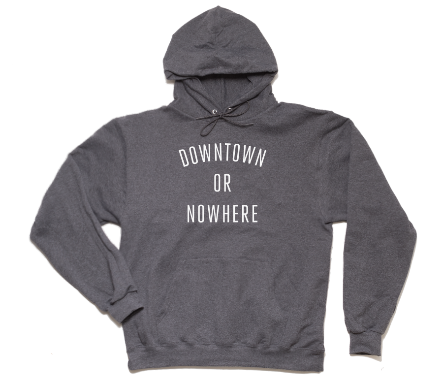 DTON Hoodie - Charcoal