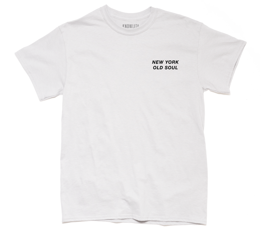 New York Old Soul Tee - White