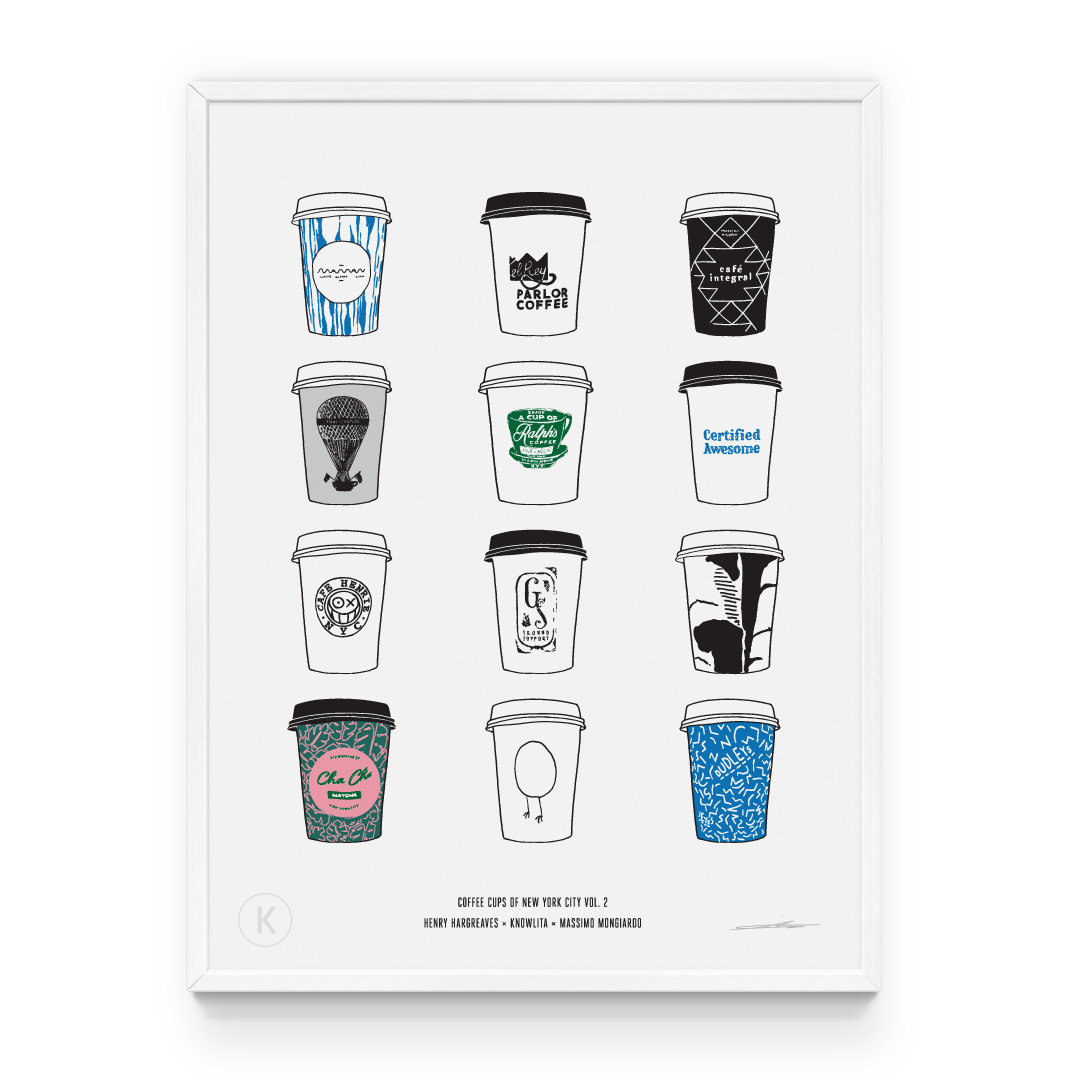 Coffee Cups of New York City Vol. 2
