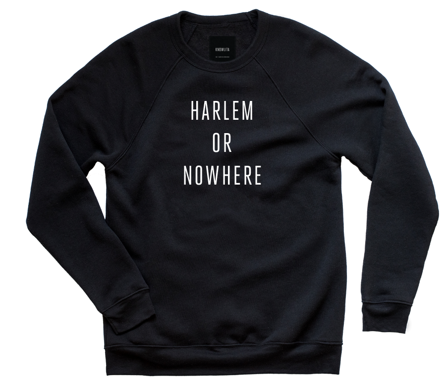 Harlem Or Nowhere Crew - Black