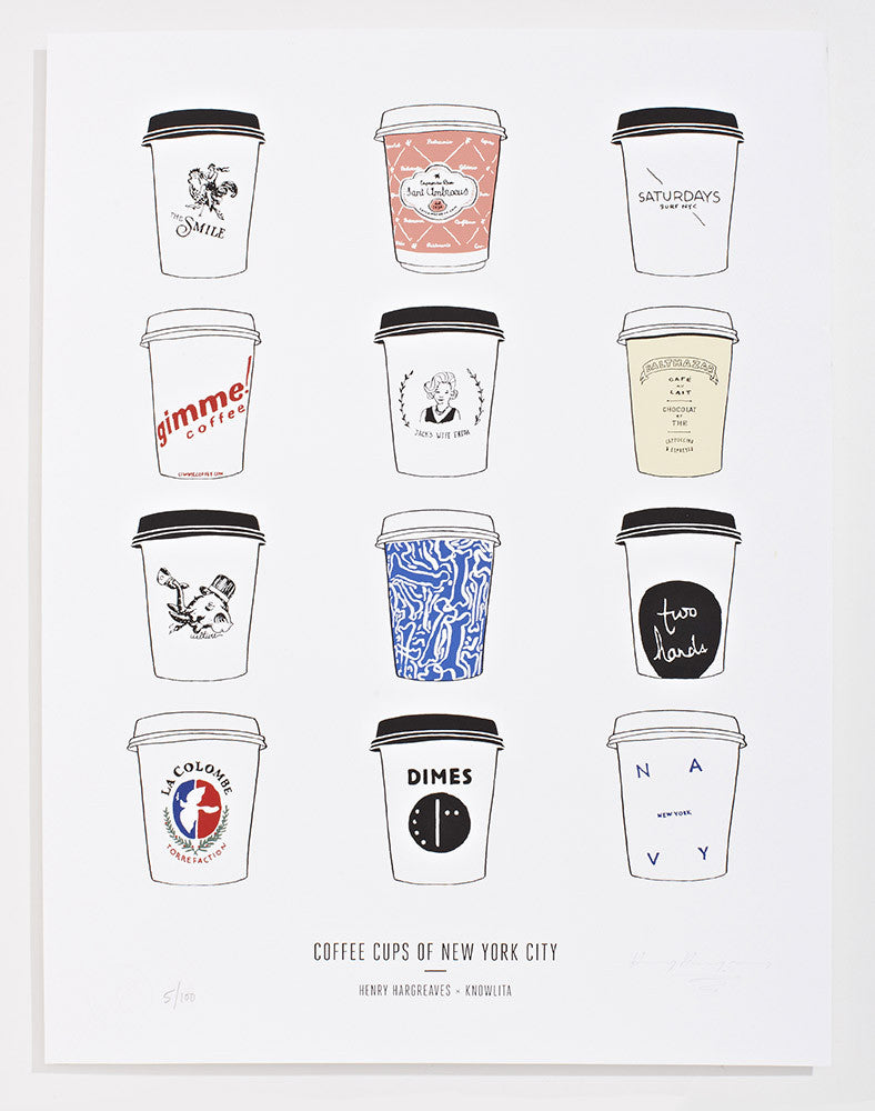 Coffee Cups of New York City