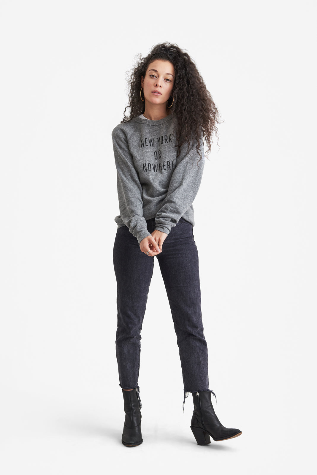 New York or Nowhere® Crew (Grey/Black)