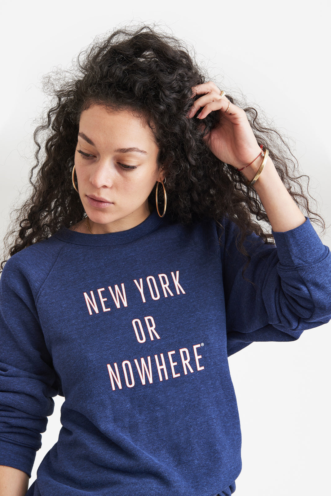 New York or Nowhere® Crew (Navy)