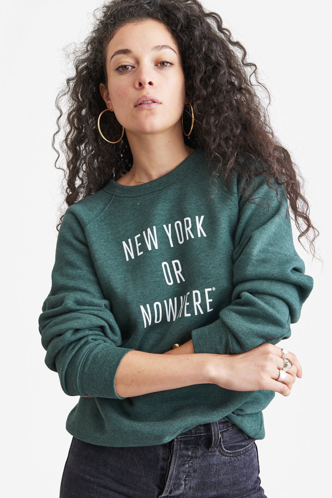 New York or Nowhere® Crew (Heather Green)