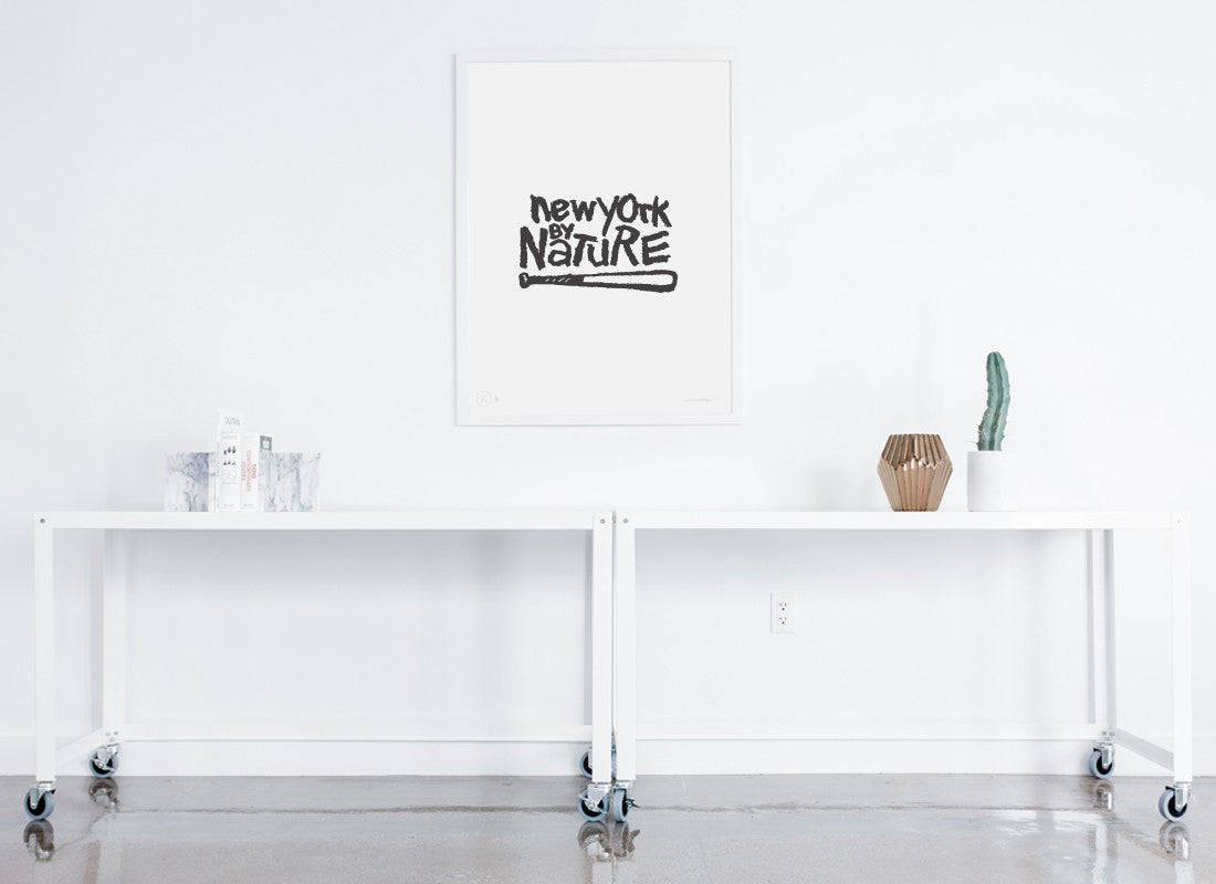 New York by Nature Print