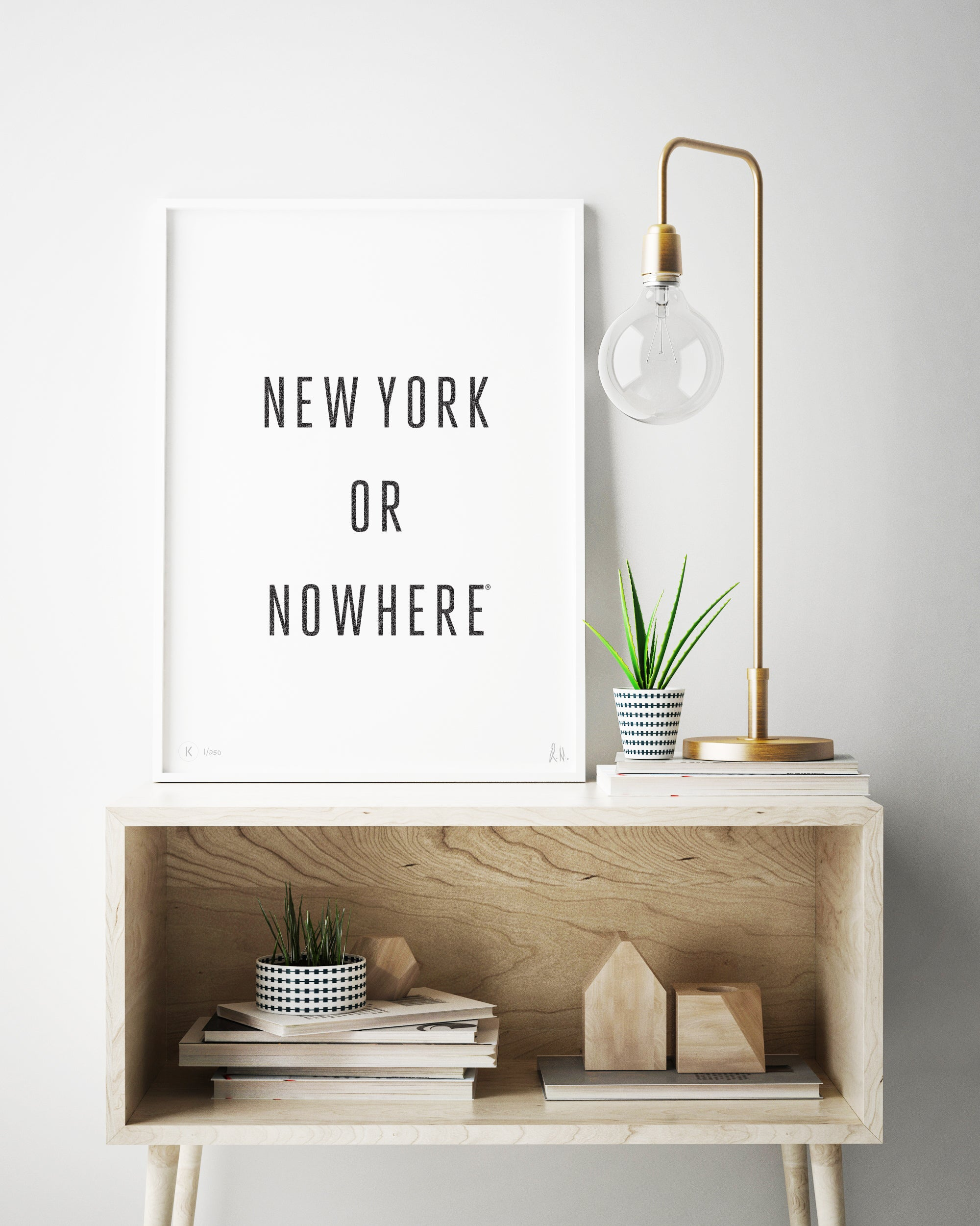 New York or Nowhere® Print