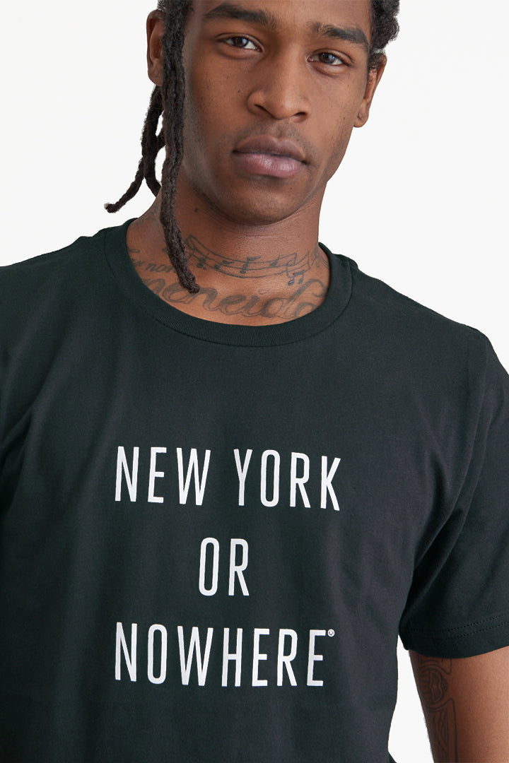 New York or Nowhere® Tee (Pre-Order)