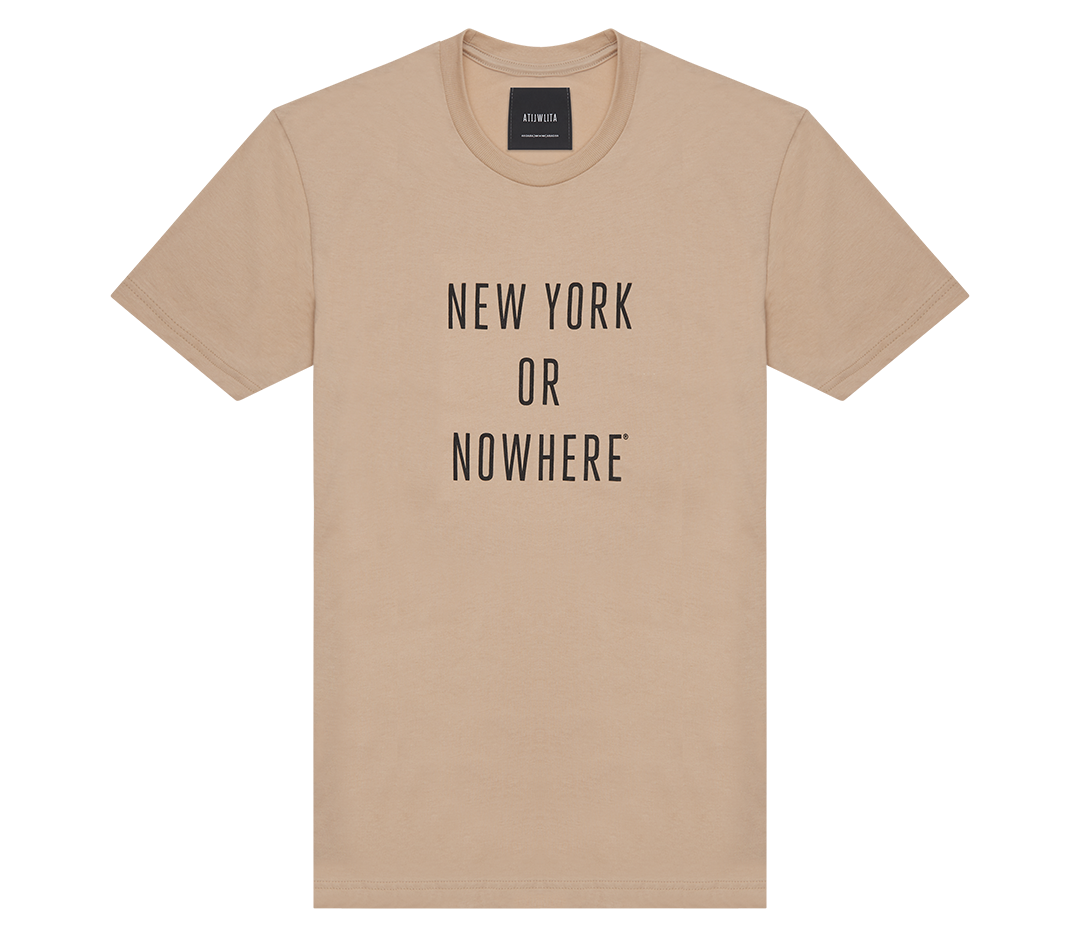 New York or Nowhere® Tee (Sand)