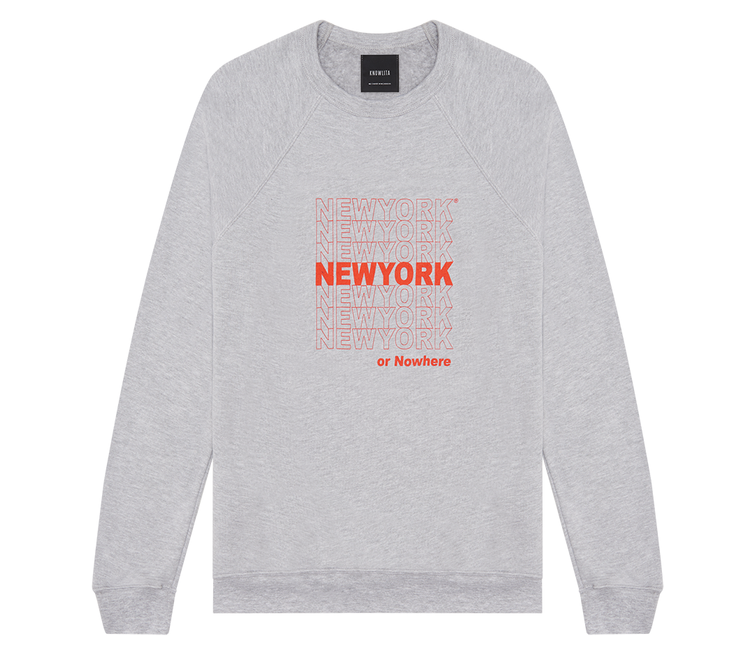 "New York or Nowhere® ""Thanks"" Crew"