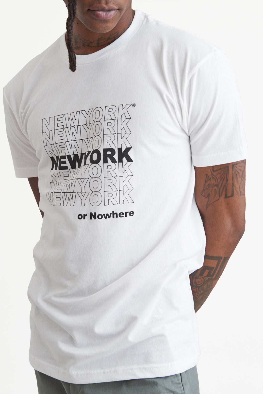"New York or Nowhere® ""Thanks"" Tee"
