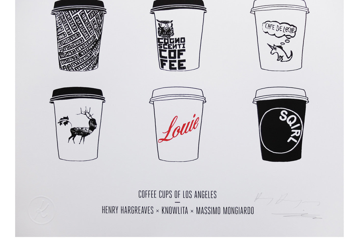 Coffee Cups of Los Angeles
