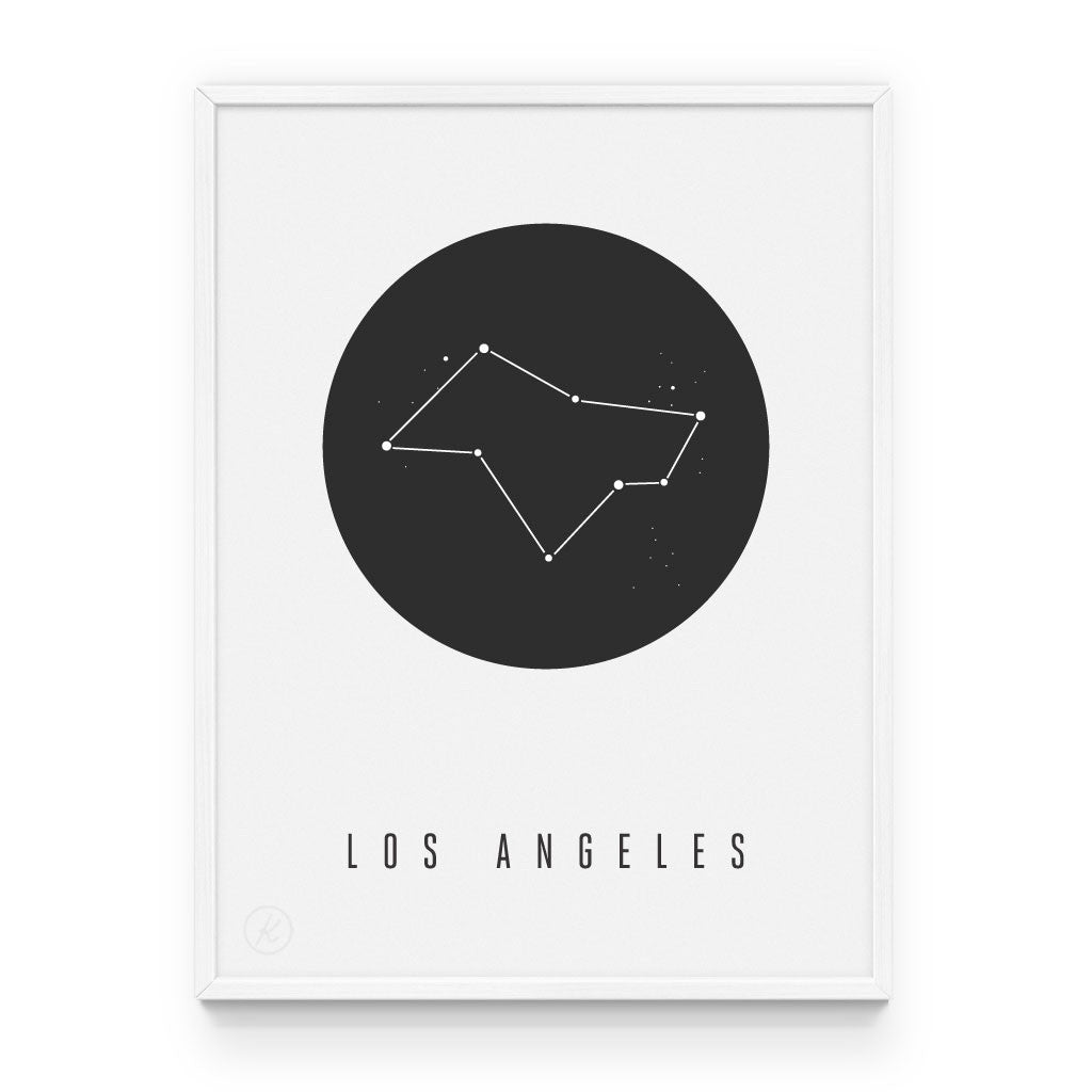 Los Angeles Constellation Print