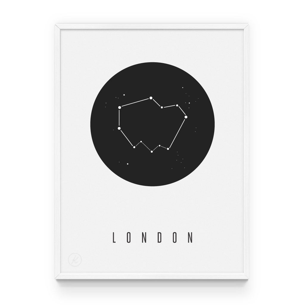 London Constellation Print