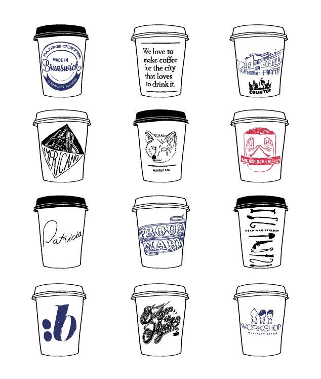 Coffee Cups of Melbourne