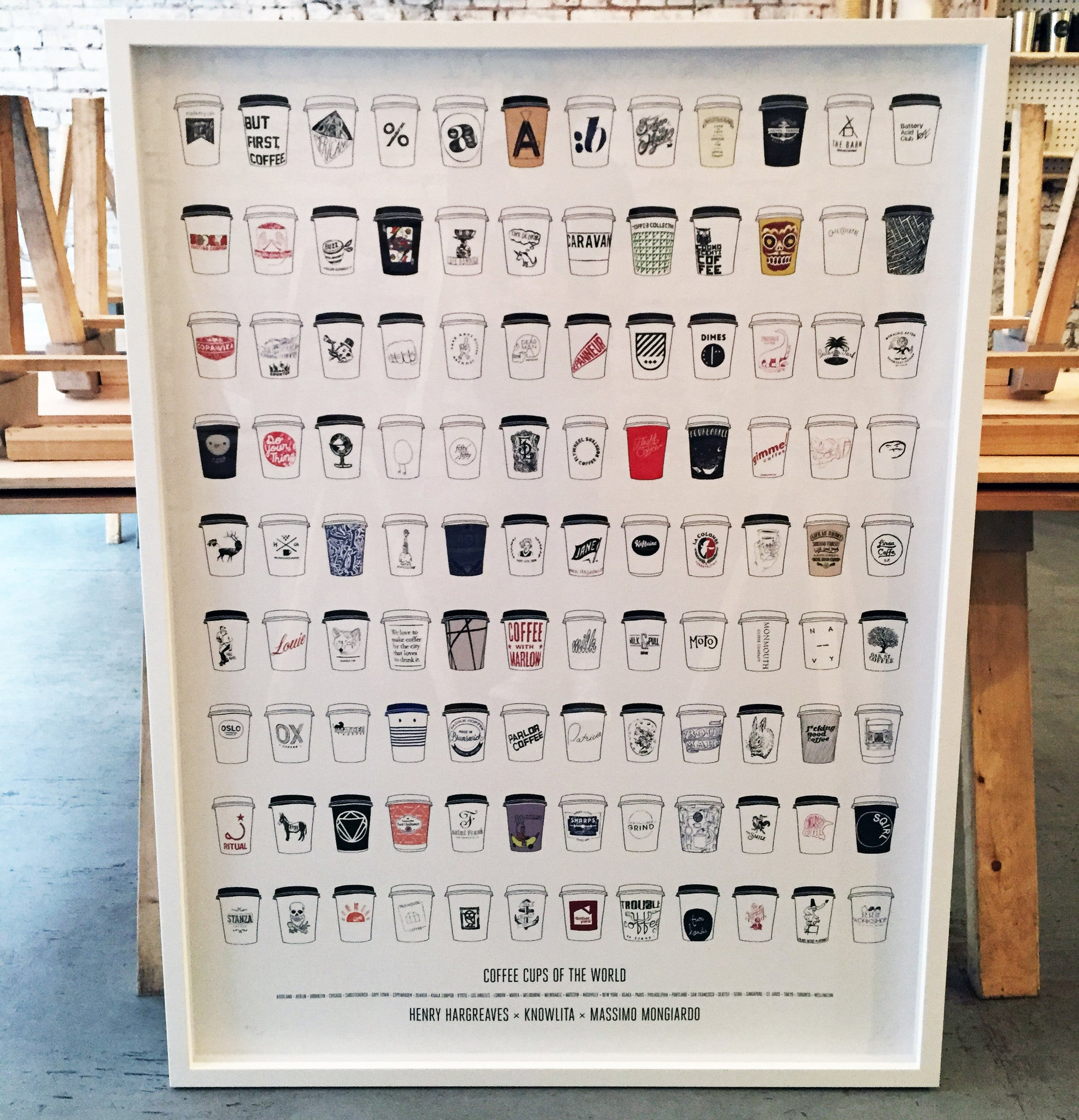 Coffee Cups of the World: Master Print