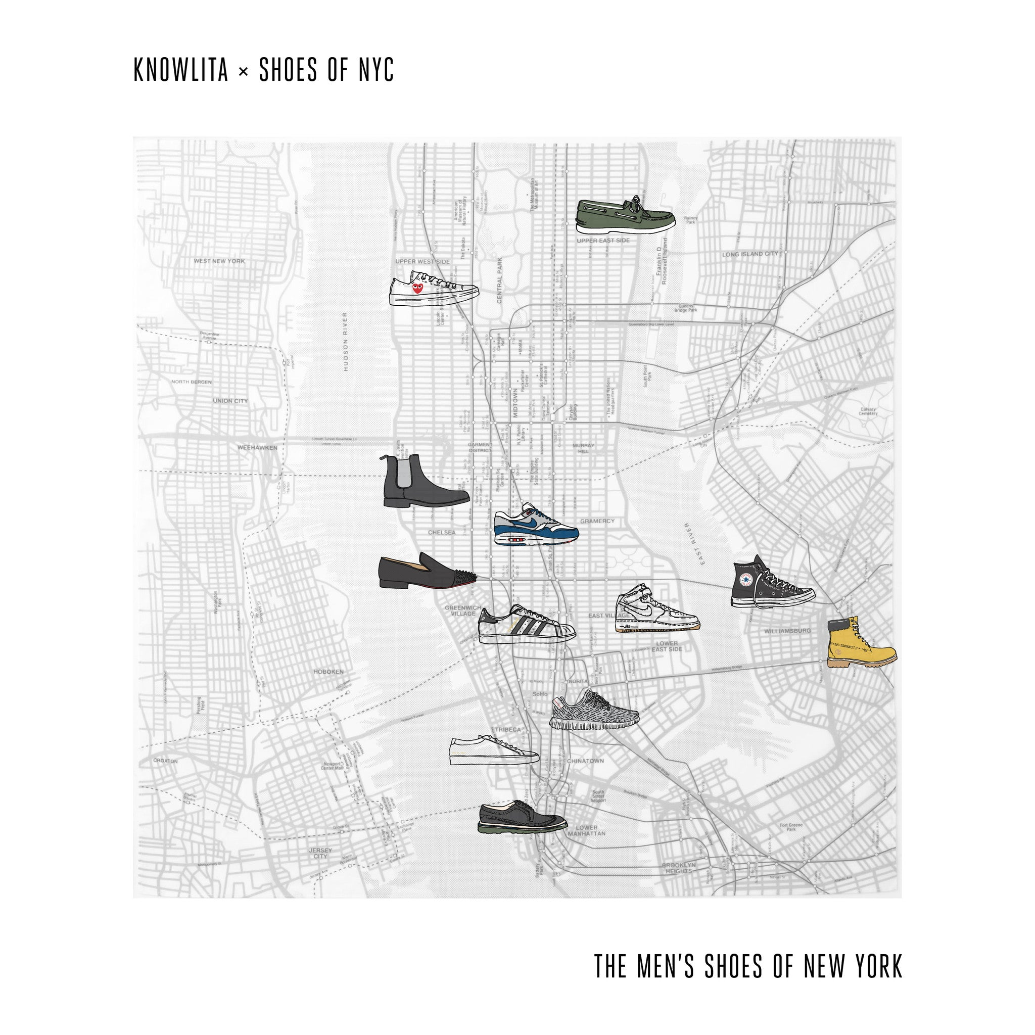 The Shoes of New York (Men's)