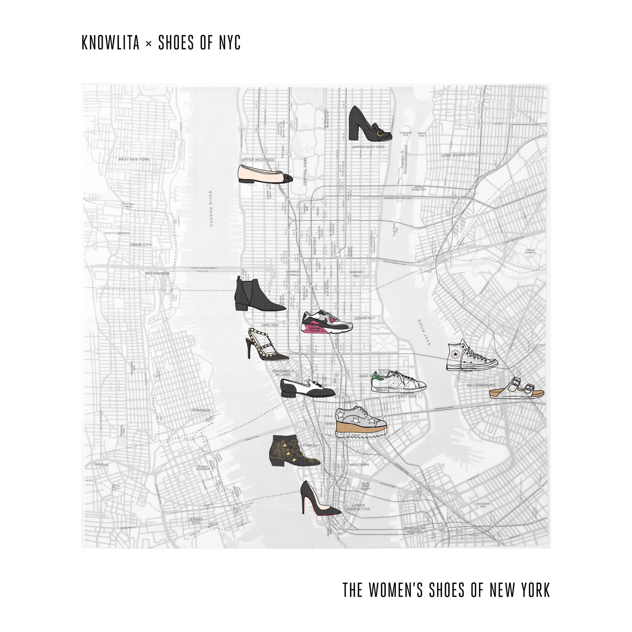 The Shoes of New York (Women's)