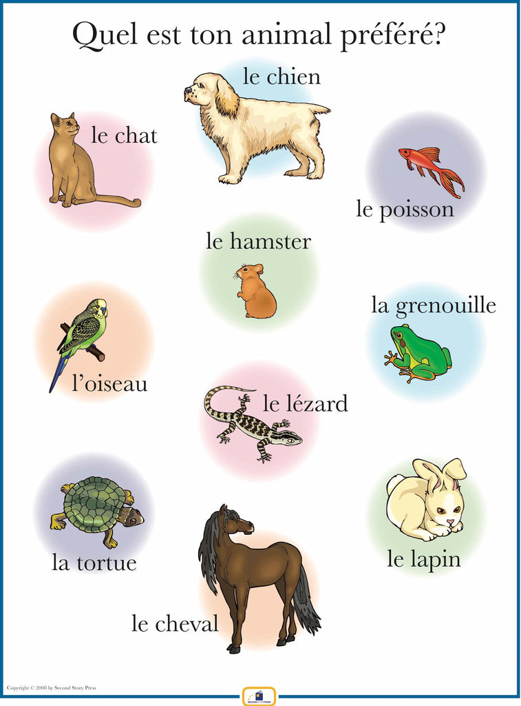 French Pets Poster