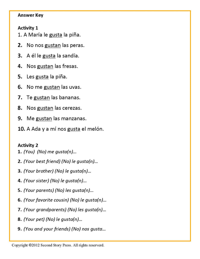 Free Worksheet Gustar Worksheet gustar worksheets laveyla com noun italian french and spanish language teaching