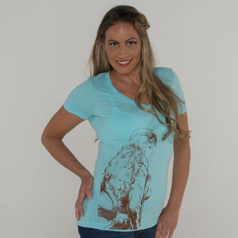 Aviatrix V-neck T