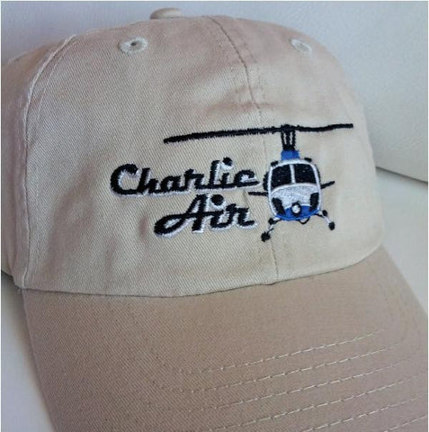Helicopter Logo Hat