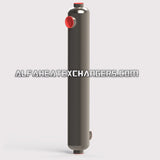 High Pressure AHE-1200K BTU 316L Stainless Steel Shell & Tube Heat Exchanger