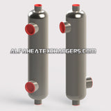 High Pressure AHE-4500K BTU 316L Stainless Steel Shell & Tube Heat Exchanger